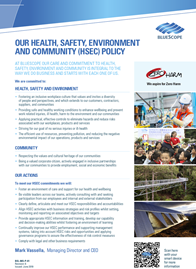 BlueScope HSEC Policy - June 2019